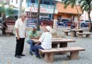 Alcalde SDE entrega remozado parque Las Palma