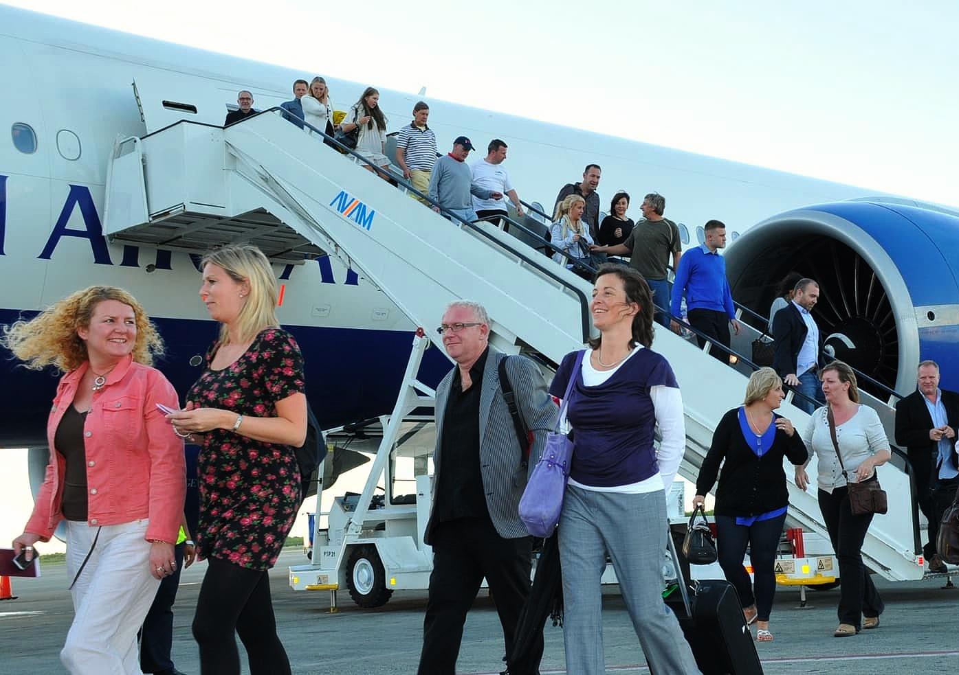 La llegada de turistas a la República Dominicana crece 4,6 %
