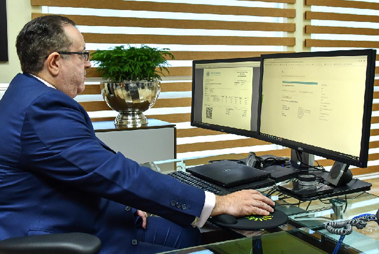 DGII recibe el primer Comprobante Fiscal Electrónico