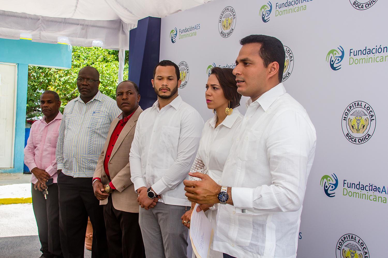 AES Dominicana realiza importante donación