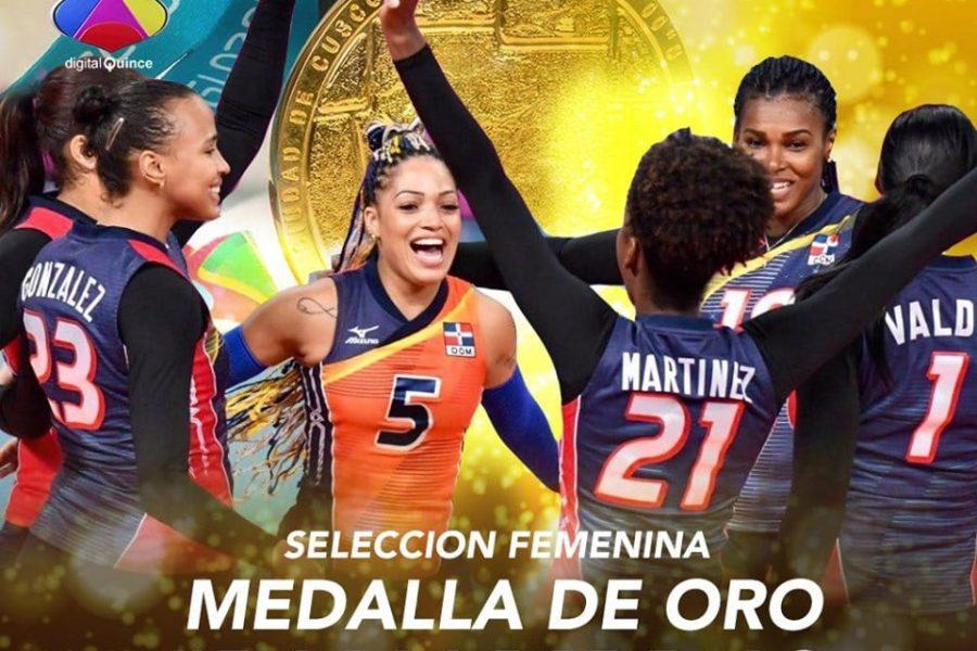 Las Reinas del Caribe vencen a Colombia y ganan oro en Panamericanos