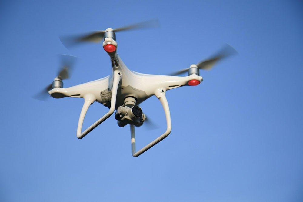 AES lidera uso de drones