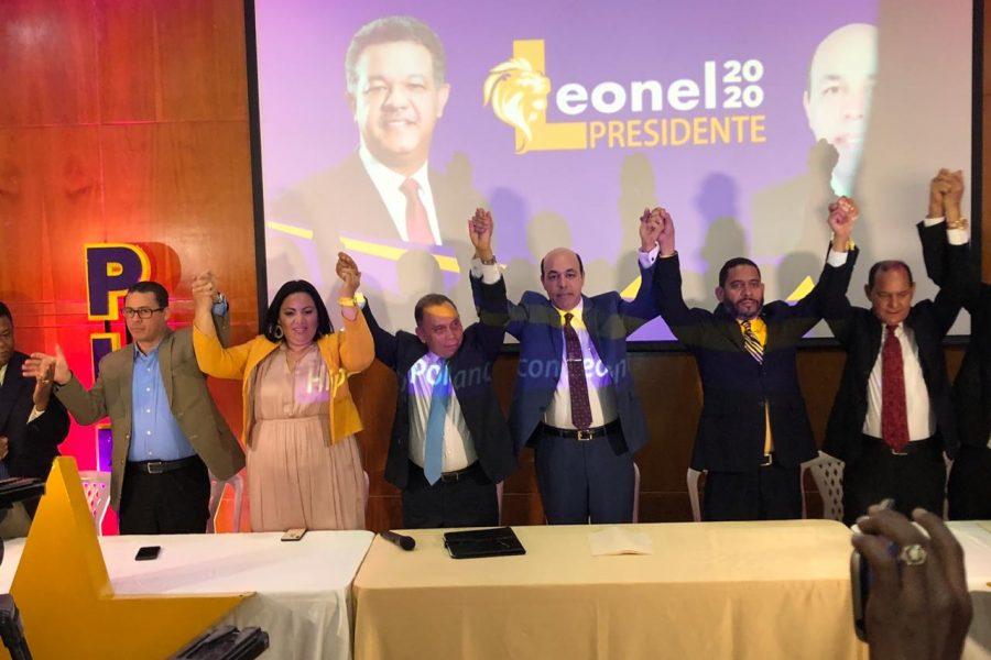 Leonel Fernández recibe apoyo de Hipólito Polanco