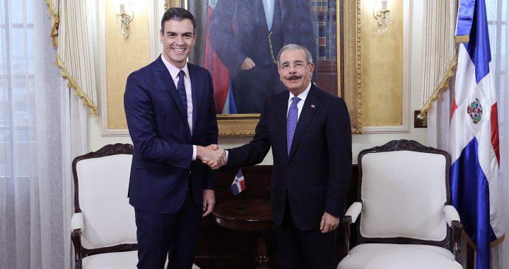 Danilo Medina felicita a Pedro Sánchez
