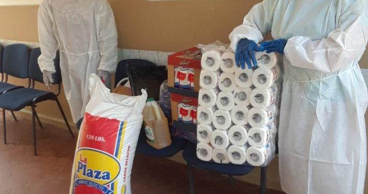 Luis Alberto acude en auxilio de los más necesitados