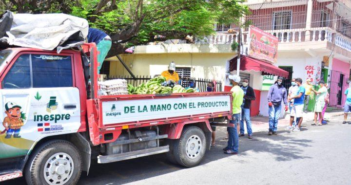Inespre inicia venta de productos agropecuarios a precios populares