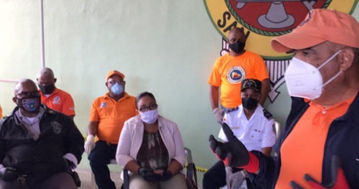 Alcalde de San Luis coordina acciones preventivas contra el coronavirus