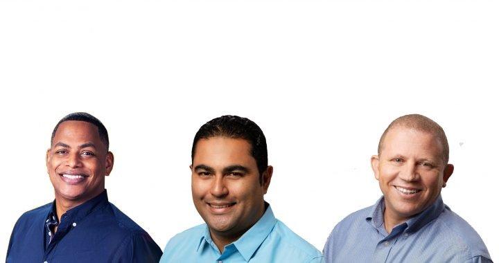 Bolívar Valera, Carlos de Jesús y Rafael Castillo encabezan preferencias electorales