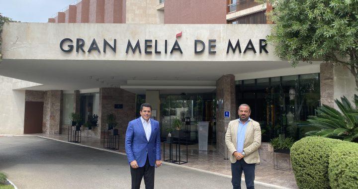 David Collado se reúne en España con cadenas hoteleras
