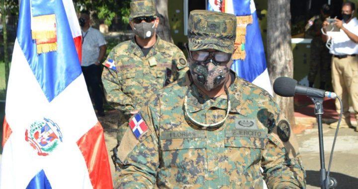 Ejército de la República Dominicana refuerza vigilancia en la frontera
