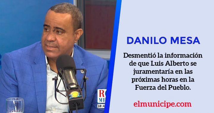 Danilo Mesa desmiente información