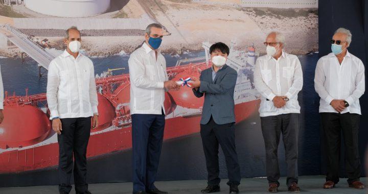ENADOM inicia construcción de un nuevo tanque de almacenamiento de Gas Natural Líquido