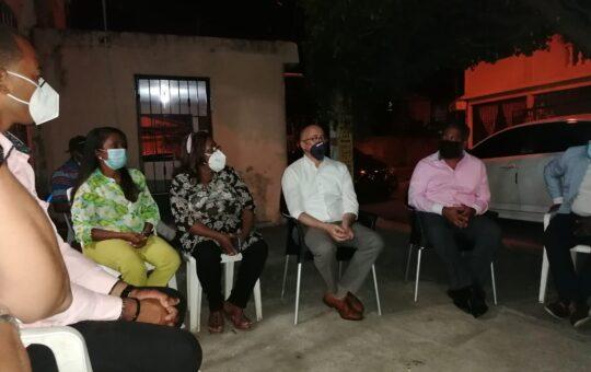 Domínguez Brito visita el municipio SDE