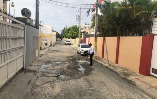 Diputado asegura gobierno del PLD dejó las calles de SDE destruidas