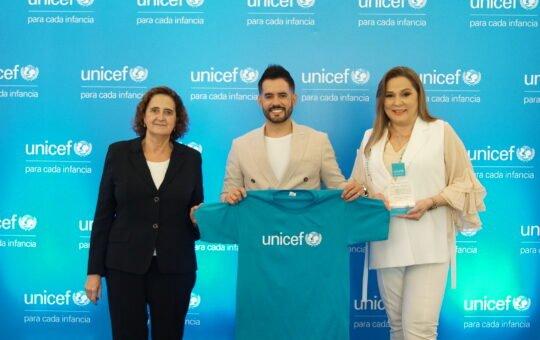 Manny Cruz, nuevo embajador de UNICEF en la República Dominicana