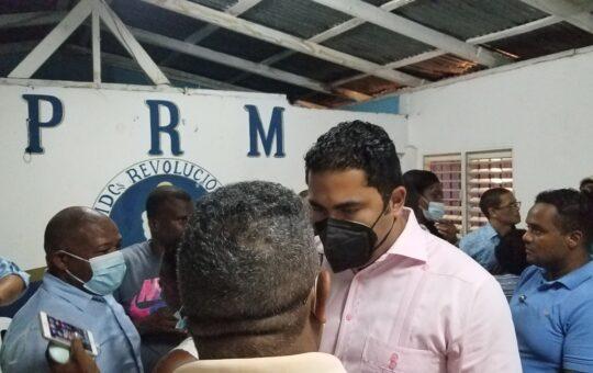 Adán Peguero asegura que no tiene competencia para la presidencia PRM en SDE