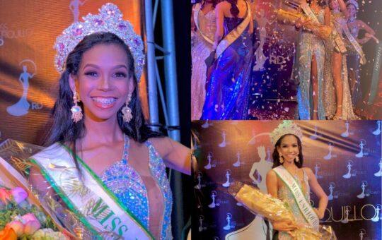 """Conozca la nueva """"Miss Enriquillo República Dominicana 2021"""""""